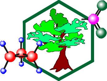 Beautiful image of molecular model