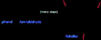 bakelite phenol formaldehyde