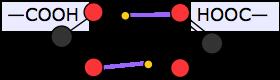 Descrição: ácido carboxílico de ligação de hidrogénio